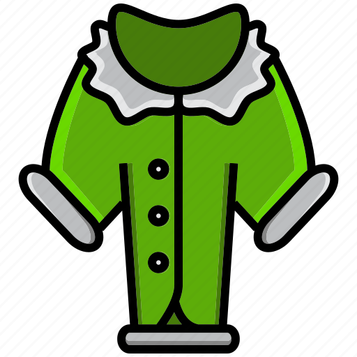 blazer, cold, holiday, ice, jacket, loat, winter icon