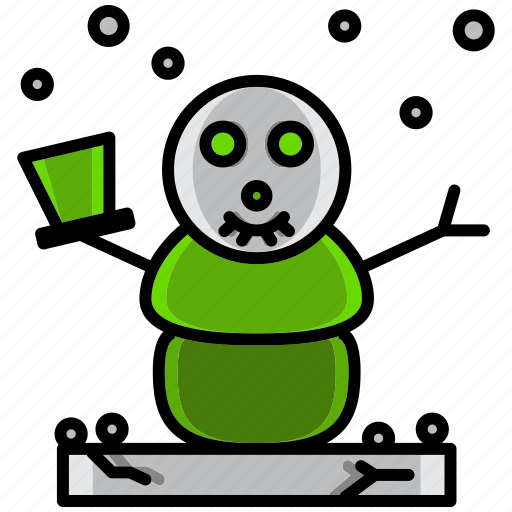 cold, holiday, ice, nival, snowman, winter icon
