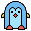 animal, arctic, penguin, snow icon