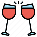celebretion, drink, wine icon