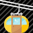 cable car, elevator, lift, ski, transport, travel, vehicle