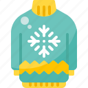 christmas, clothes, fashion, snowflake, sweater, wear, winter