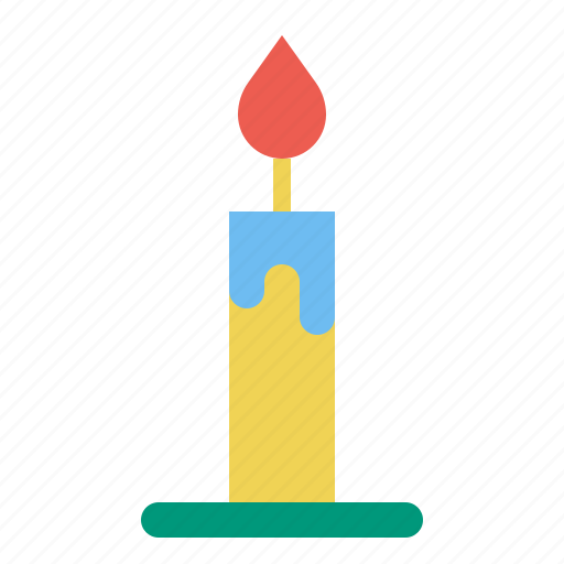 candle, celebretion, light icon