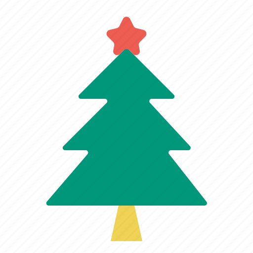 christmas, star, tree icon