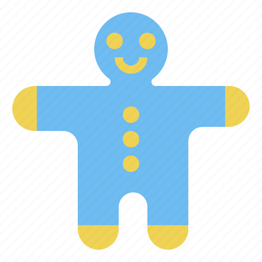 Christmas, cookie, gingerbreadman icon - Download on Iconfinder