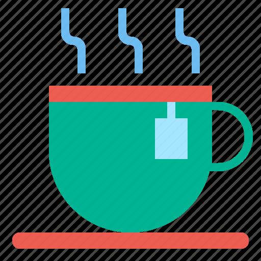 cup, hot, tea, warm icon