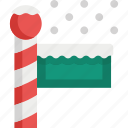 country, navigation, north, pointer, pole icon
