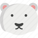 bear, cute, panda, polar icon