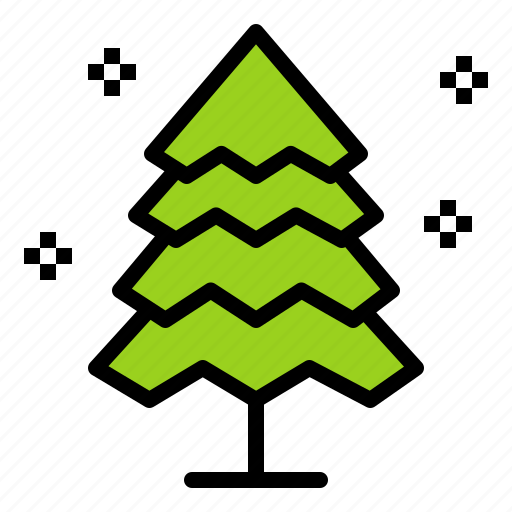 Nature, pine, tree, winter icon - Download on Iconfinder