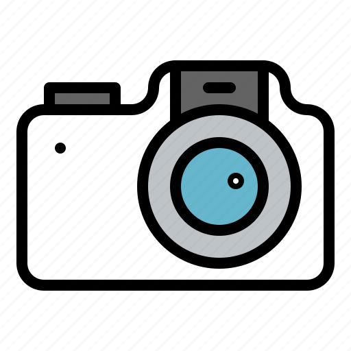 camera, photograph, technology, winter icon