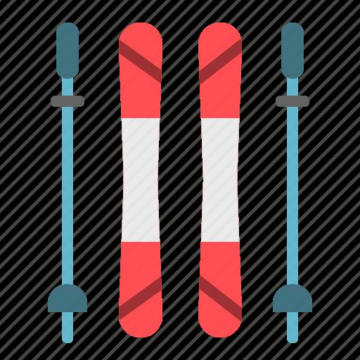 extreme, ski, sport, winter icon