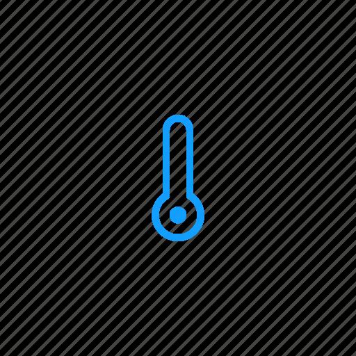 cold, temperatur, thermometer, winter icon