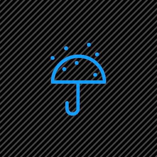 rain, snow, umbrella, winter icon