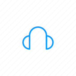 cold, headset, warm, winter icon