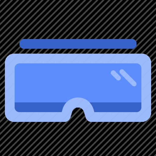 eyeglass, fill, set, snowboard, winter icon