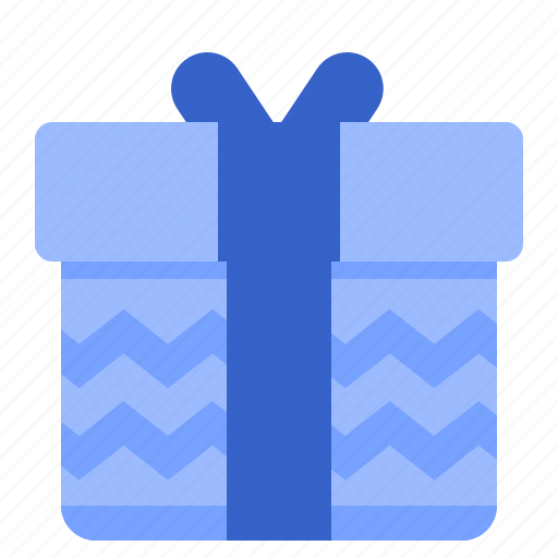 fill, gift, set, winter icon