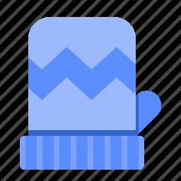 fill, gloves, set, winter icon