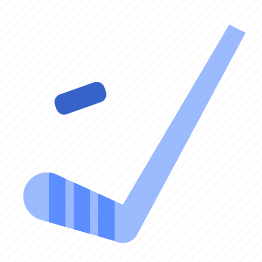 fill, hockey, set, stick, winter icon