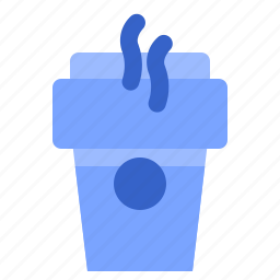 coffecup, fill, hot, set, winter icon