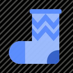 fill, set, socks, winter icon