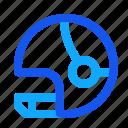blue, helm, hockey, set, winter icon