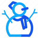 blue, doll, set, winter icon