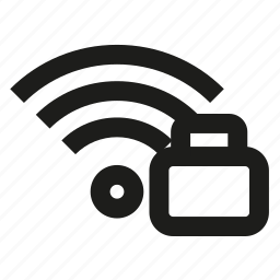 connection, lock, wifi, wireless icon