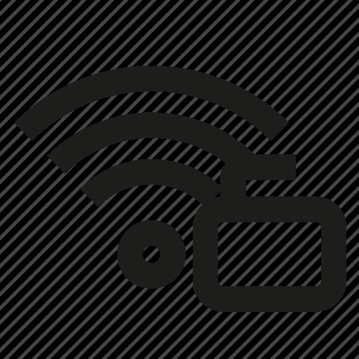 connection, unlock, wifi, wireless icon