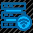 server, database, storage, network, wifi, wireless, connection