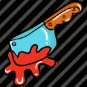 blade, cutter, killer knife, knife, murder, peeler icon