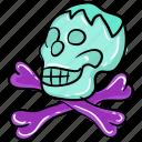 halloween skull, human skull, magic skull, skull, skull anatomy, skull bones icon