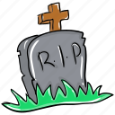 funeral home, graveyard, halloween graveyard, rip, tombstone icon