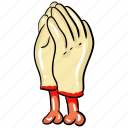 evil hands, ghost hands, scary hands, witch hands, zombie hands icon