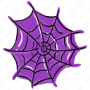 cobweb, halloween web, insect net, spider net, spider web icon