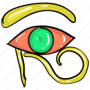 evil eye, eyeball, horror eye, magic eye, spooky eye, witch eye icon