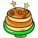 bakery food, breakfast, dessert, food, pancakes, snack icon