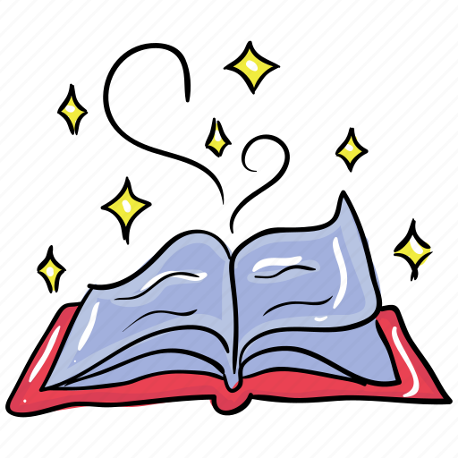 halloween book, horror book, horror booklet, horror novel, magic book, scary book icon