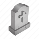 cemetery, dead, grave, graveyeard, magic icon