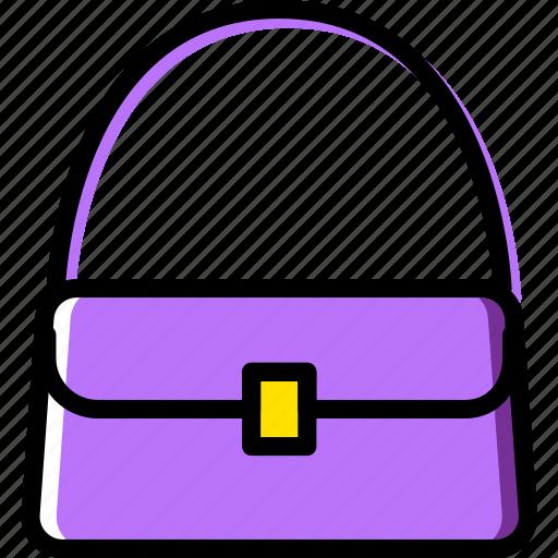 accessories, fashion, handbag, woman icon