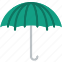 accessories, fashion, umbrella, woman icon