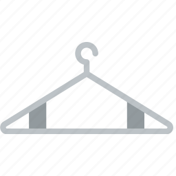 accessories, clothes, fashion, hanger, woman icon