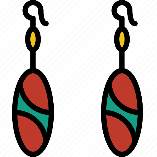 accessories, earrings, fashion, woman icon
