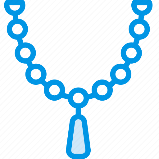accessories, fashion, necklace, woman icon
