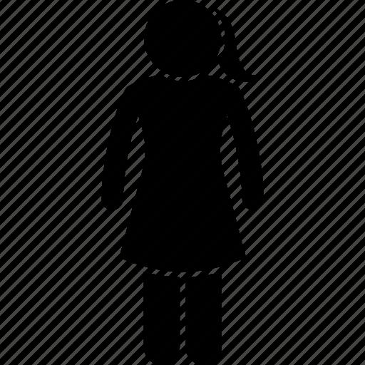 body, female, girl, height, petite, short, woman icon