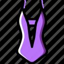 woman, piece, fashion, swimsuit, clothes