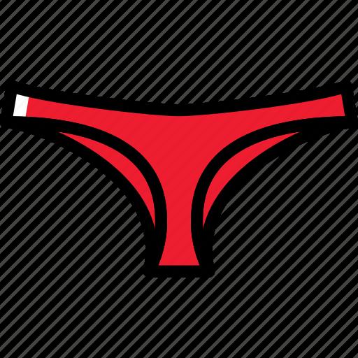 clothes, fashion, panties, woman icon