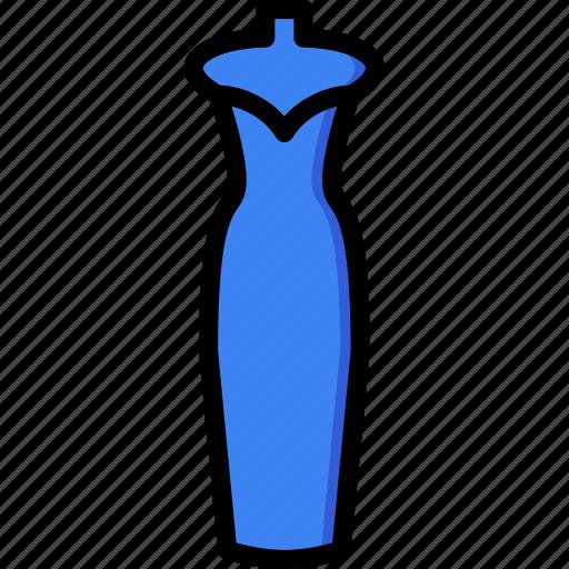 clothes, dress, fashion, stylish, woman icon
