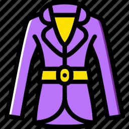 clothes, coat, fashion, woman icon