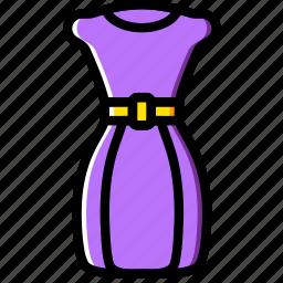 clothes, dress, fashion, woman icon