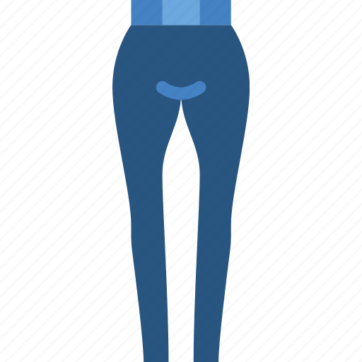 clothes, fashion, pants, skinny, woman icon